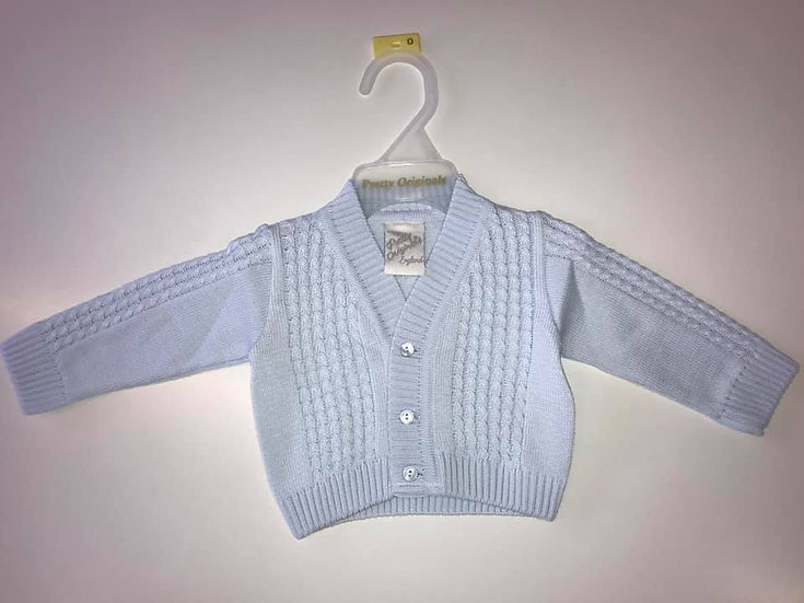 PRETTY ORIGINALS Blue Boys Cardigan JP61196E