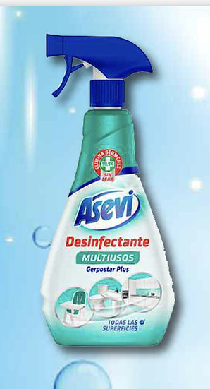BLUE CLEANER DISINFECTANT