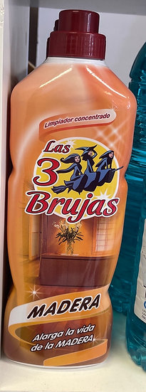 Las 3 Brujas Concentrated Wood Cleaner