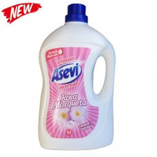 Asevi Wash Gel Detergent Rosa Mosqueta 3 Litre Concentrated