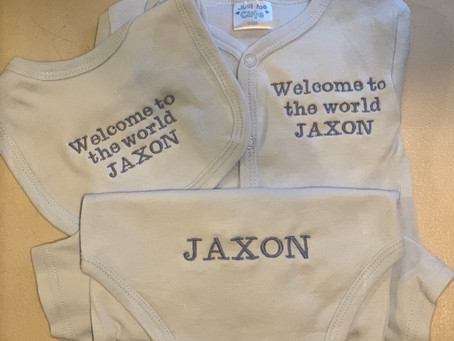 Personalised Welcome to the World Sets