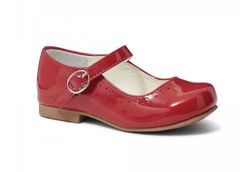 SEVVA GIRLS ABBEY RED  MARY JANE
