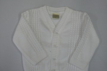 PRETTY ORIGINALS White Boys Cardigan JP61196E