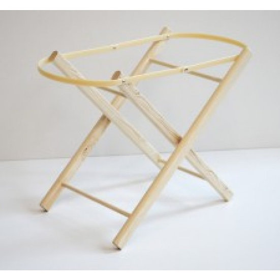 DOLLS LAQUERED WOOD TOY FOLDING STAND