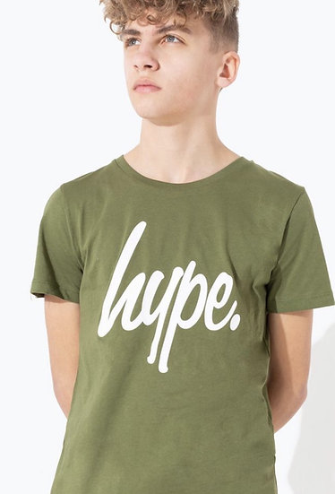 HYPE T-SHIRT GREEN