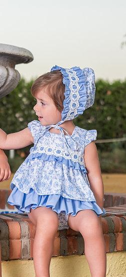 BABINE PORCELAIN BABY DRESS & KNICKERS