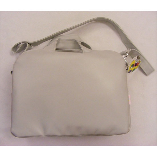 MODIN SMOOTH FRONT CHANGING BAG - GREY