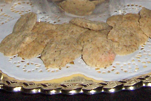 Wild Alaskan Salmon - Gluten Free Tweedle Doodah Round Cookies - Large - 8 oz