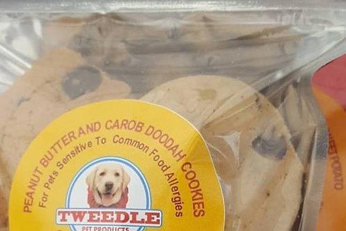 Peanut Butter and Carob Tweedle Doodah Cookies 4.5oz