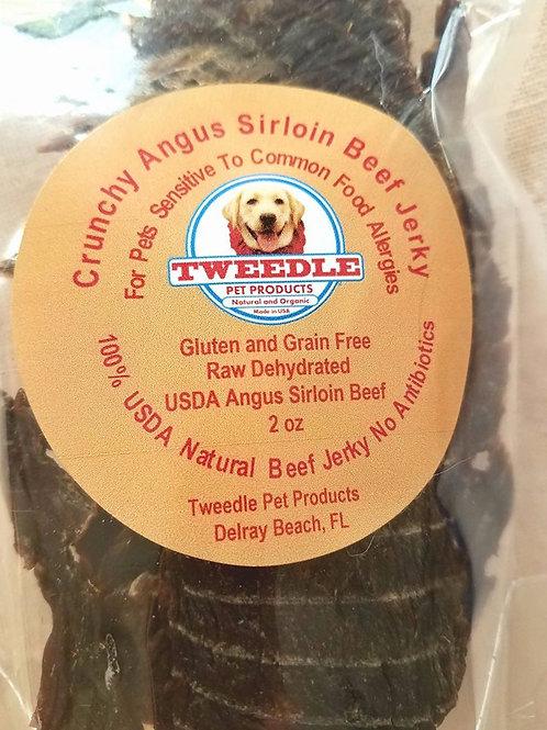 100% USDA Angus Prime Sirloin Beef Tweedle Stix Jerky