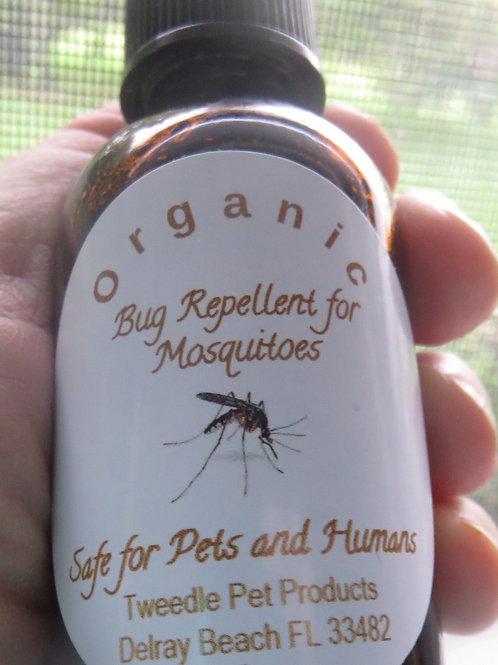 1oz Organic Mosquito Repellent - Small