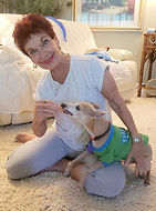 Cathy and handsome Logan in green shirt.