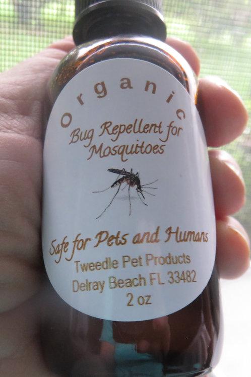 2oz Organic Mosquito Repellent - Medium