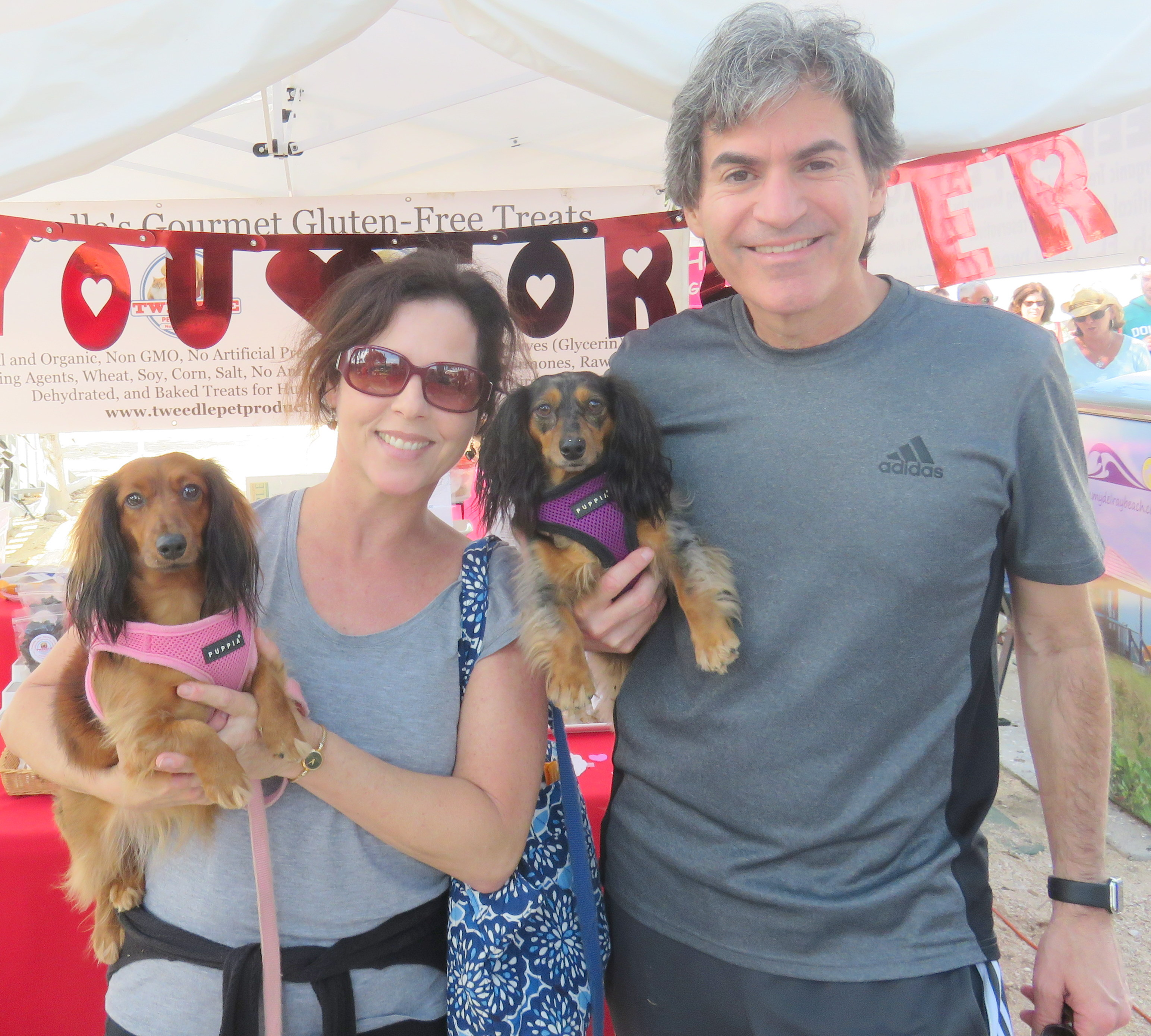 DOXIES AND DR JEFF AND WIFE