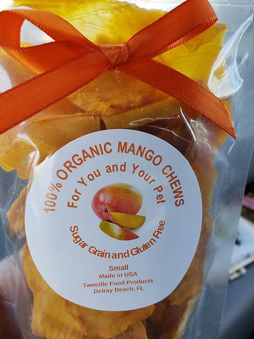 Organic Mango Chews for pets & pet parents Small
