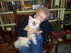 Salvador doggie and Roberta