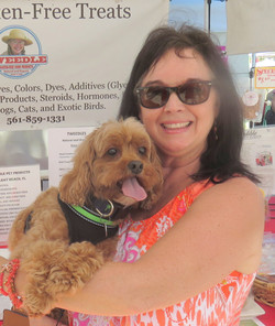 MR BUTTERFINGERS COCKAPOO and mom Stephanie