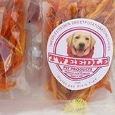 100% USDA Crunchy Sweet Potato Tweedle Stix Natural Chews   Small
