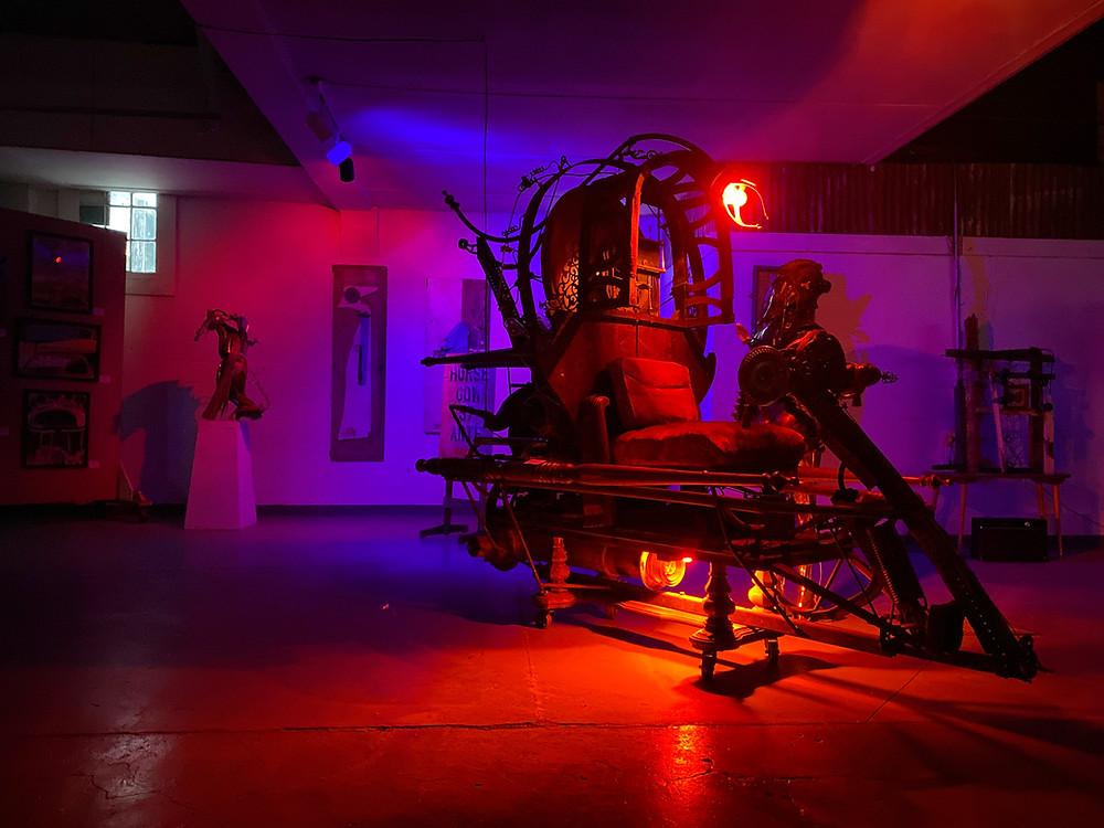 Dali's Time Machine by Artist Sean Guerrero