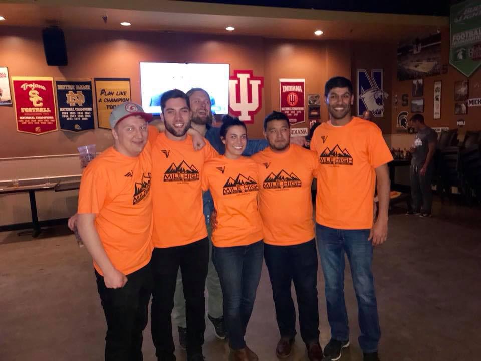 Denver Skeeball Team at Blake Street Tavern
