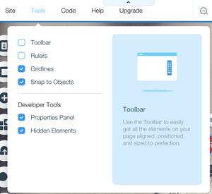 Wix Code Developer Tools