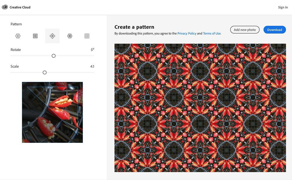 Web Designer Tip: Pattern Maker from Adobe