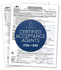 Certified Acceptance Agent in London