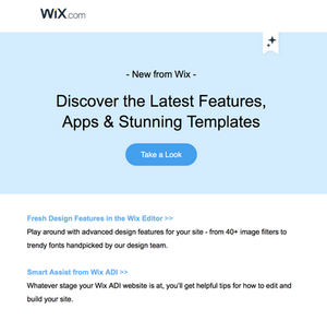 Wix Designers Love New Features!