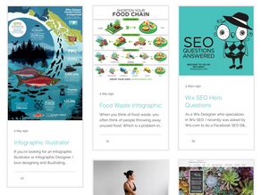Wix Blog Layouts