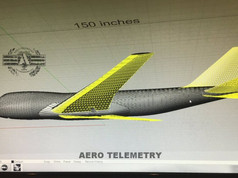 Rhino 3D for fuselage design of Aero Telemetry 747 Air Force One flyable model.