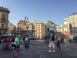 Piazza Trieste e Trento. Just to the lef