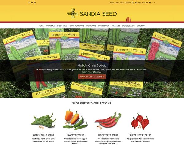 Freelance Web Designer - Seed Company Website Designer