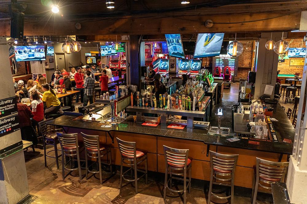 Best Restaurant in Downtown Denver - Arcade Bar in Downtown Denver
