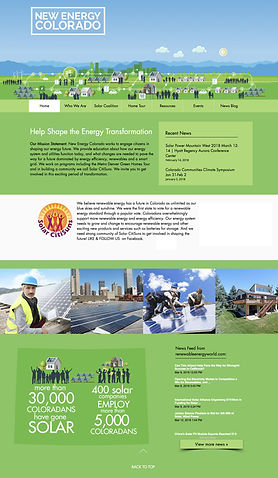 Infographic Design for Websites