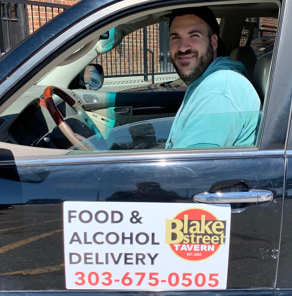 Best Denver Delivery - Tyler with Blake Street Tavern