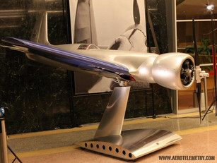 The H-1 Racer on display at the Linwood Dunn Theater in Hollywood, CA