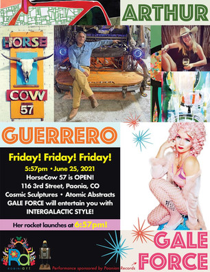 Friday Art Opening in Paonia