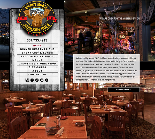 Wix Templates for Restaurants
