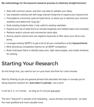 SEO Hero Resource: Keyword Research Now