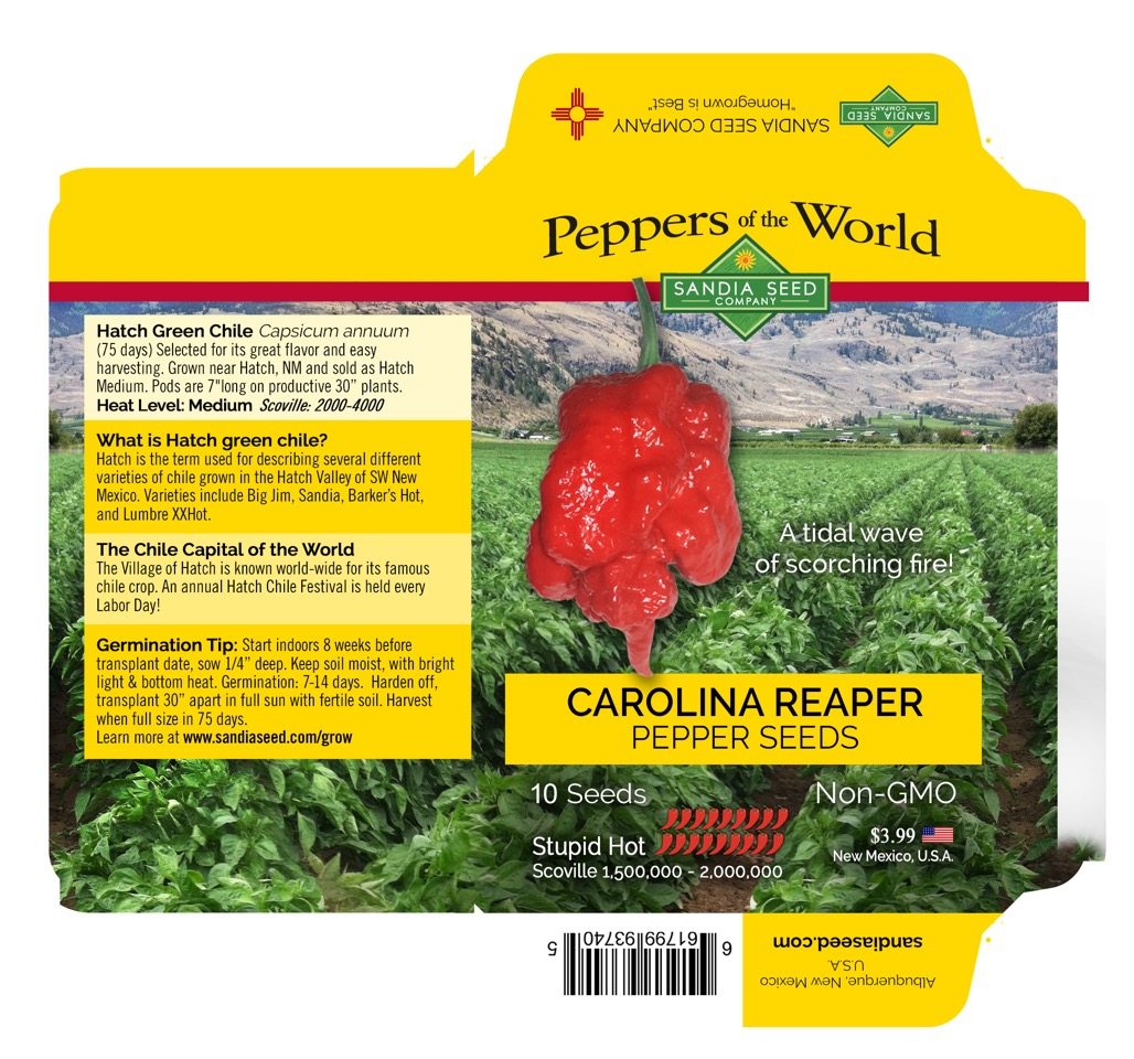 Seed Packet Designer