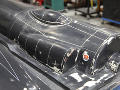 Historically accurate rivet and panel line detail on Aero Telemetry Aviator XF-11