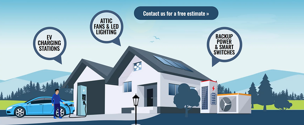Solar Company Web Designer - Custom Illustration