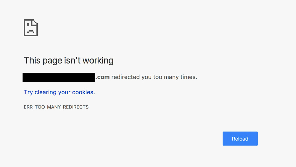 Wix Website Error: Too Many Redirects - caused by Cloudflare