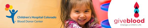 Denver Blood Drive for Children's Hospital Colorado