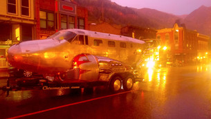 WWII Airplane Trailer in Aspen