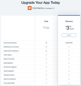 Wix Blog Comments App by CodeMagic