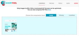 Compressing Images for Wix Website Designs