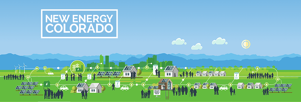 Infographic Agency - Solar Energy Grid Infographic