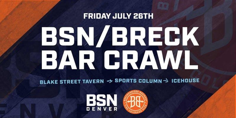 BSN Breckenridge Bar Crawl in Denver