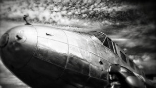 WWII Bomber Art: Travel Trailer by Sean Guerrero